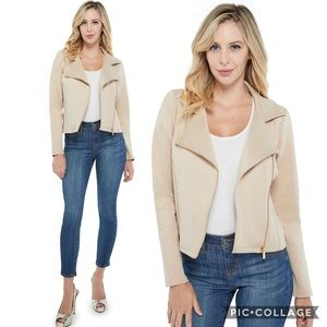 Guess - Romie Knit Moto Jacket